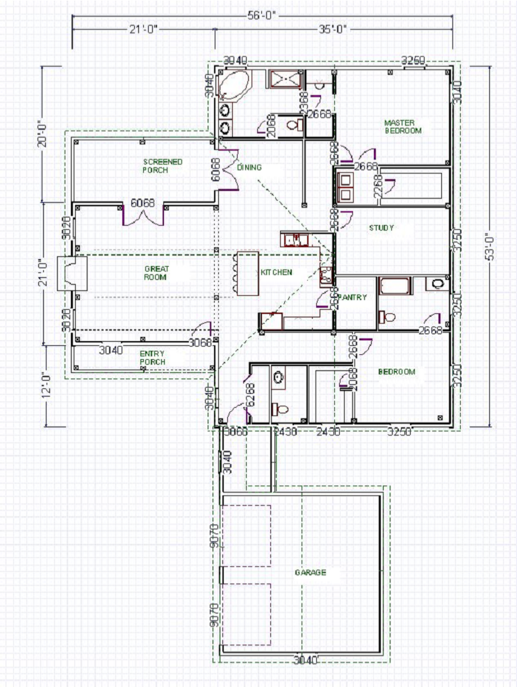 Empty Nest Plans Deerfield Design